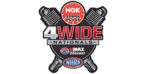 Michalek Brothers Racing 2021 Schedule - NGK Spark Plugs NHRA Four-Wide Nationals*