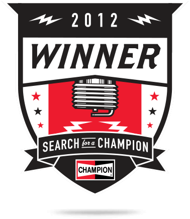 2012 Search for a Champion Grand Prize Winner
