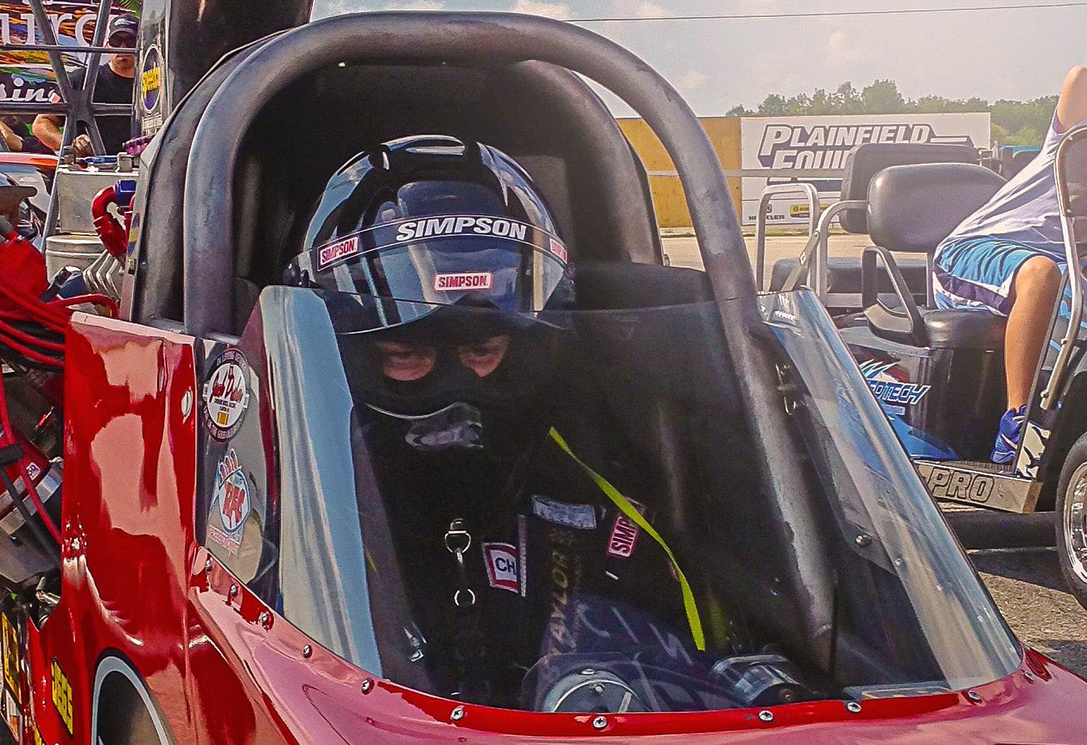 Corey Michalek Completes A/fuel Dragster License Upgrade