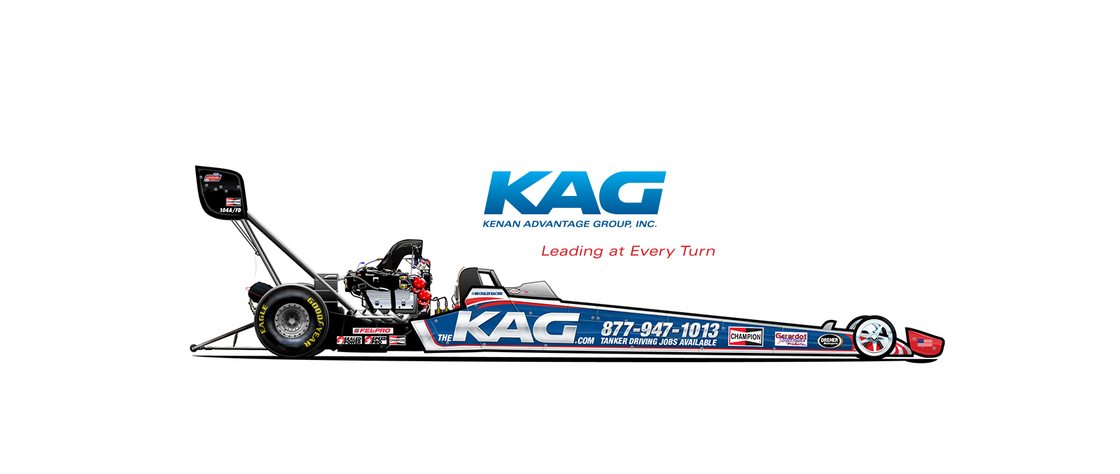The Kenan Advantage Group Joins Michalek Brothers Racing for 2014