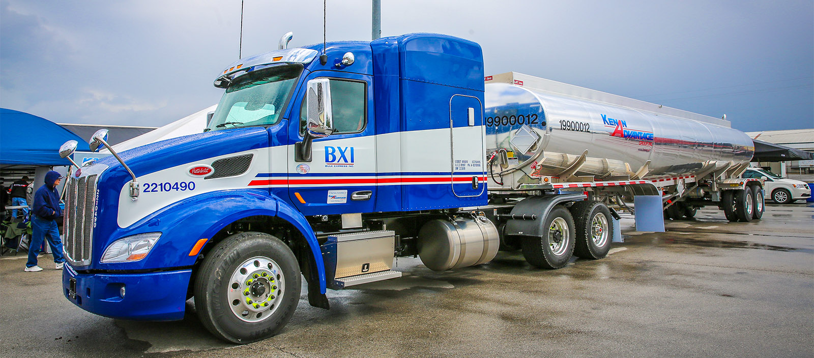 The Kenan Advantage Group is seeking commercial truck drivers including company drivers and owner–operators, mechanics and tank washers to join their growing team. (Photo credit: David Smith)
