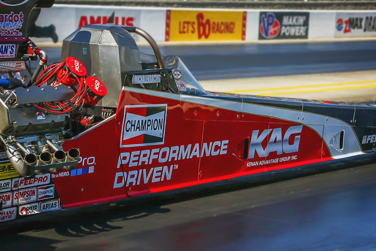 Michalek Brothers Racing Bows Out Early at NHRA Four-Wide Nationals