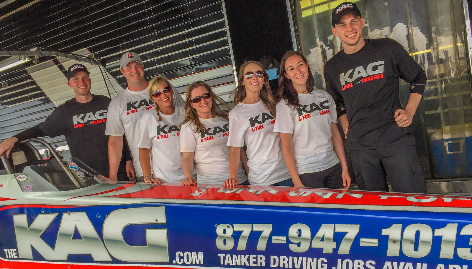 The Kenan Advantage Group team was on hand all weekend long recruiting new drivers and mechanics to join their growing workforce. To see all available KAG employment opportunities, please visit www.thekag.com/race.