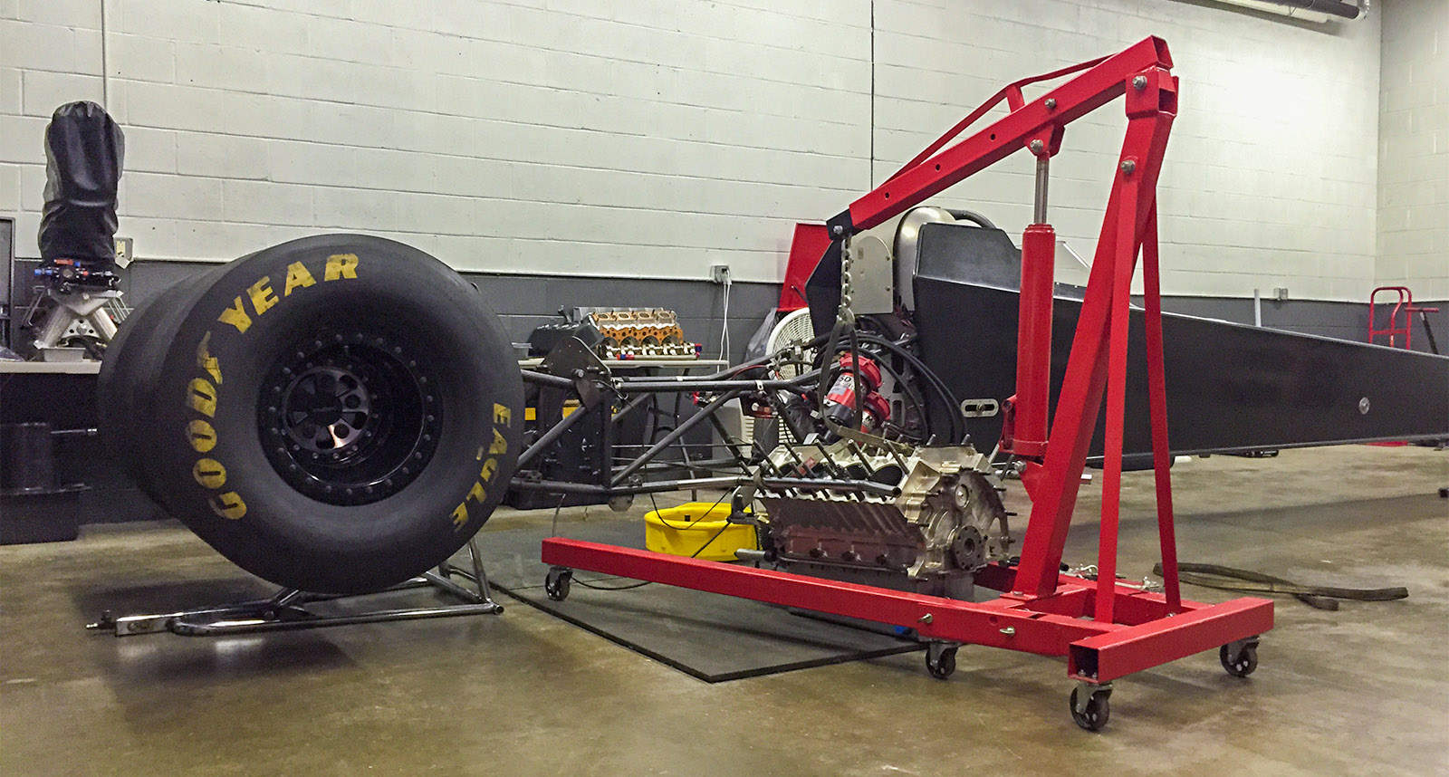 Michalek Brothers Racing will contest the 2016 season with an injected-nitromethane engine combination.