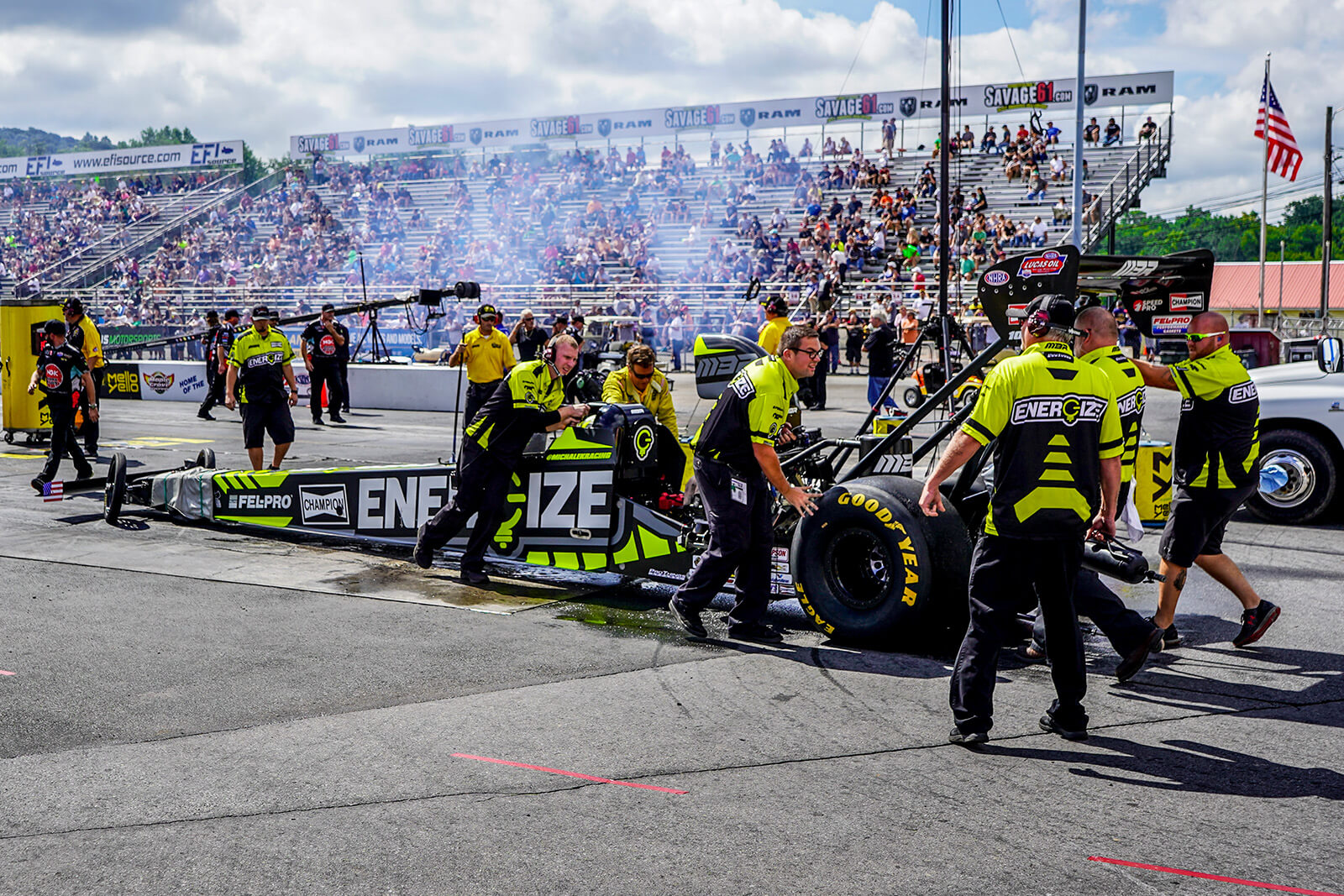 MBR battled adversity all weekend long but the team was able to rally to a 9th place qualifying position to match up against Brandon Greco in the first round of eliminations.