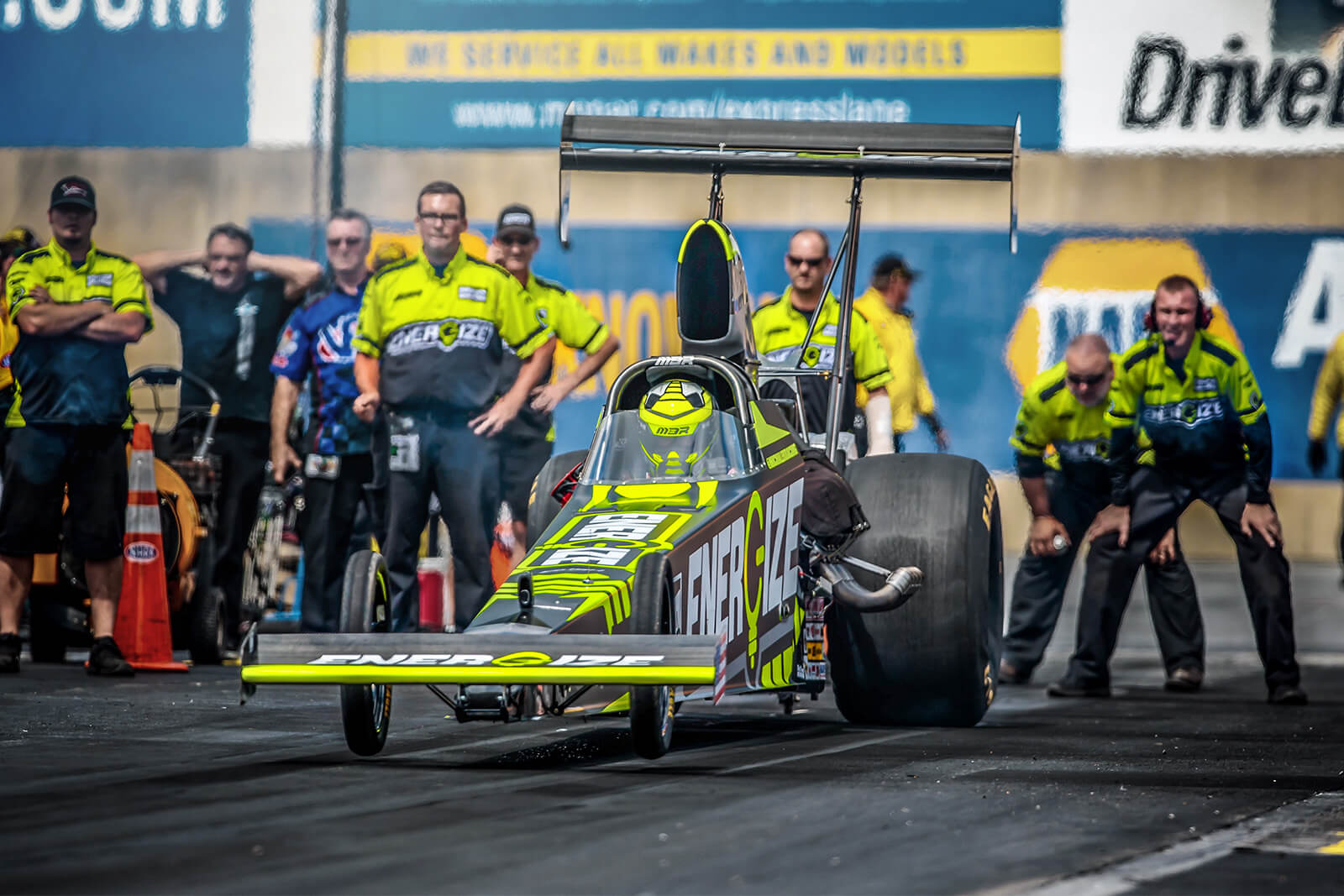 Michalek Brothers Racing Eliminated by the Narrowest of Margins at Dodge NHRA Nationals