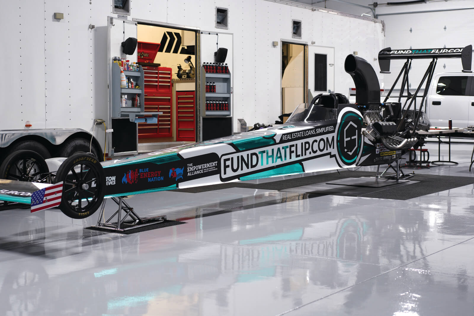 Fund That Flip Enters NHRA Drag Racing as Primary Sponsor of Michalek Brothers Racing
